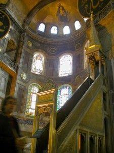 The Hagia Sophia In Istanbul Turkey Is The Famed Site Where Cardinal Humbert In 1054 Excommunicated Michael I Ceru Hagia Sophia Istanbul Roman Catholic Church