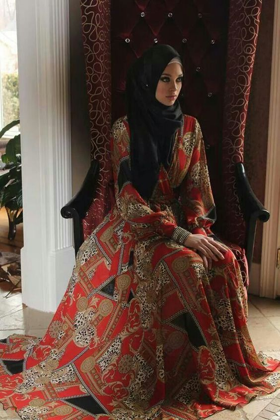 7 gorgeous abaya and hijab designs (6)