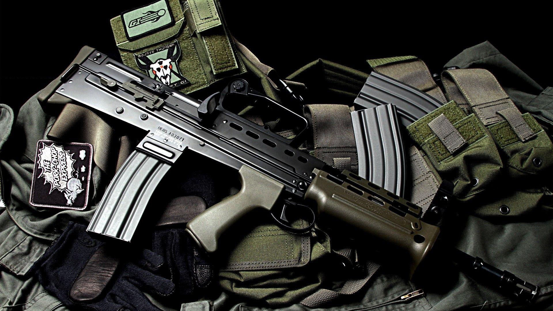 modern guns wallpaper Guns