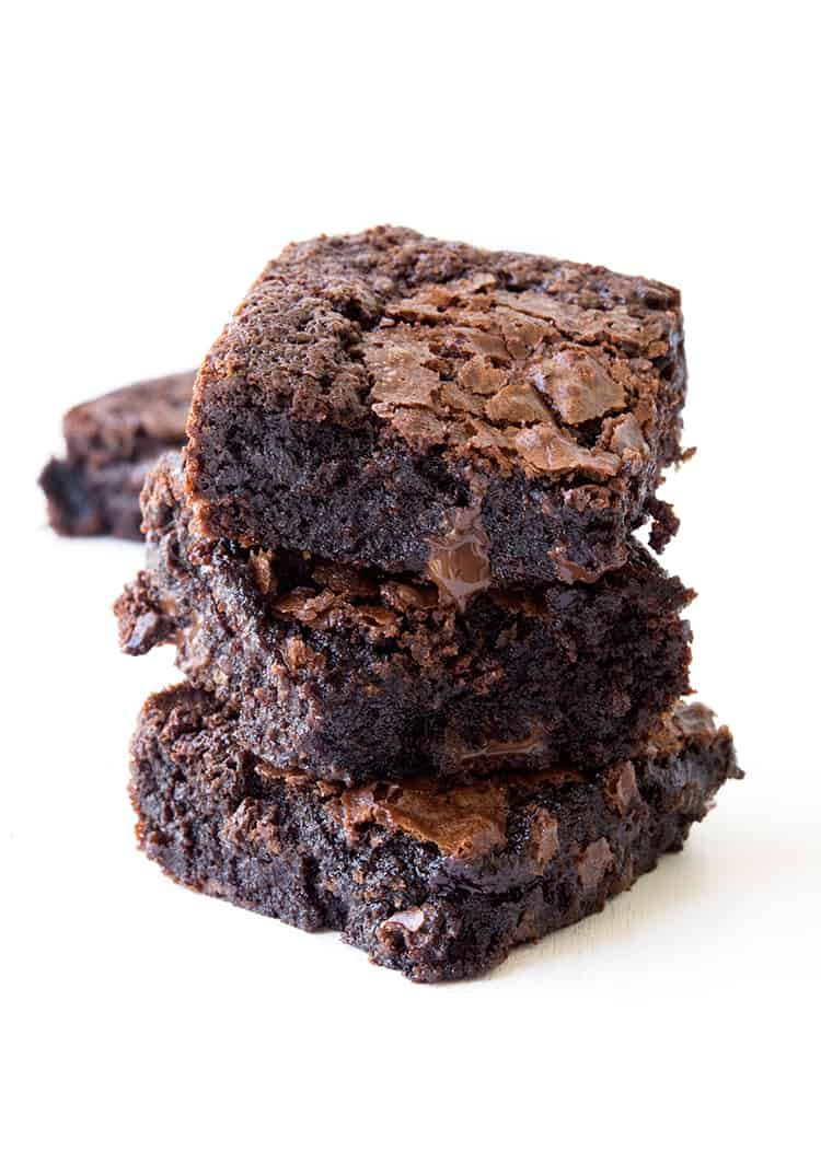 Easy Fudgy Gluten Free Brownies Hands down, the BEST gluten free chocolate brownies that are extra fudgy and gooey. Everyone will LOVE these! Recipe from