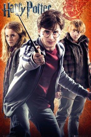 Harry Potter 7 Trio Maxi Poster