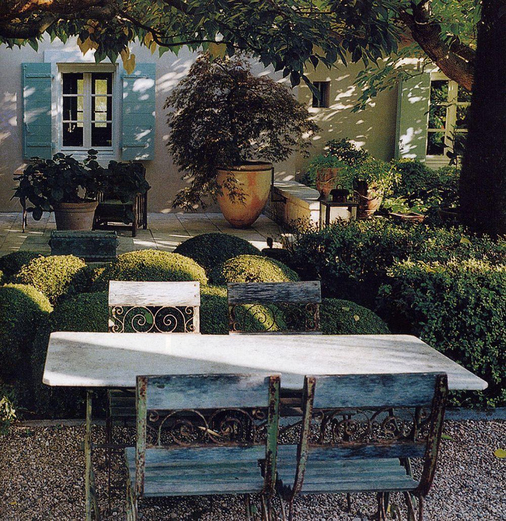 Bosc architectes michel semini paysagiste jacques for Decorateur exterieur terrasse
