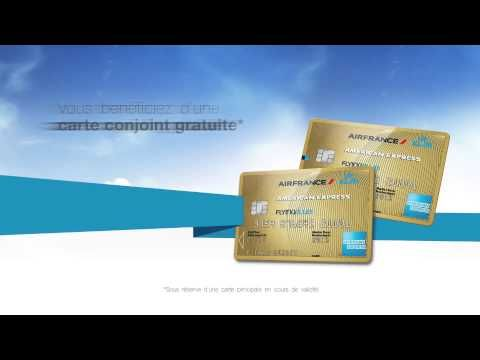 Carte Air France Klm American Express Gold Offre