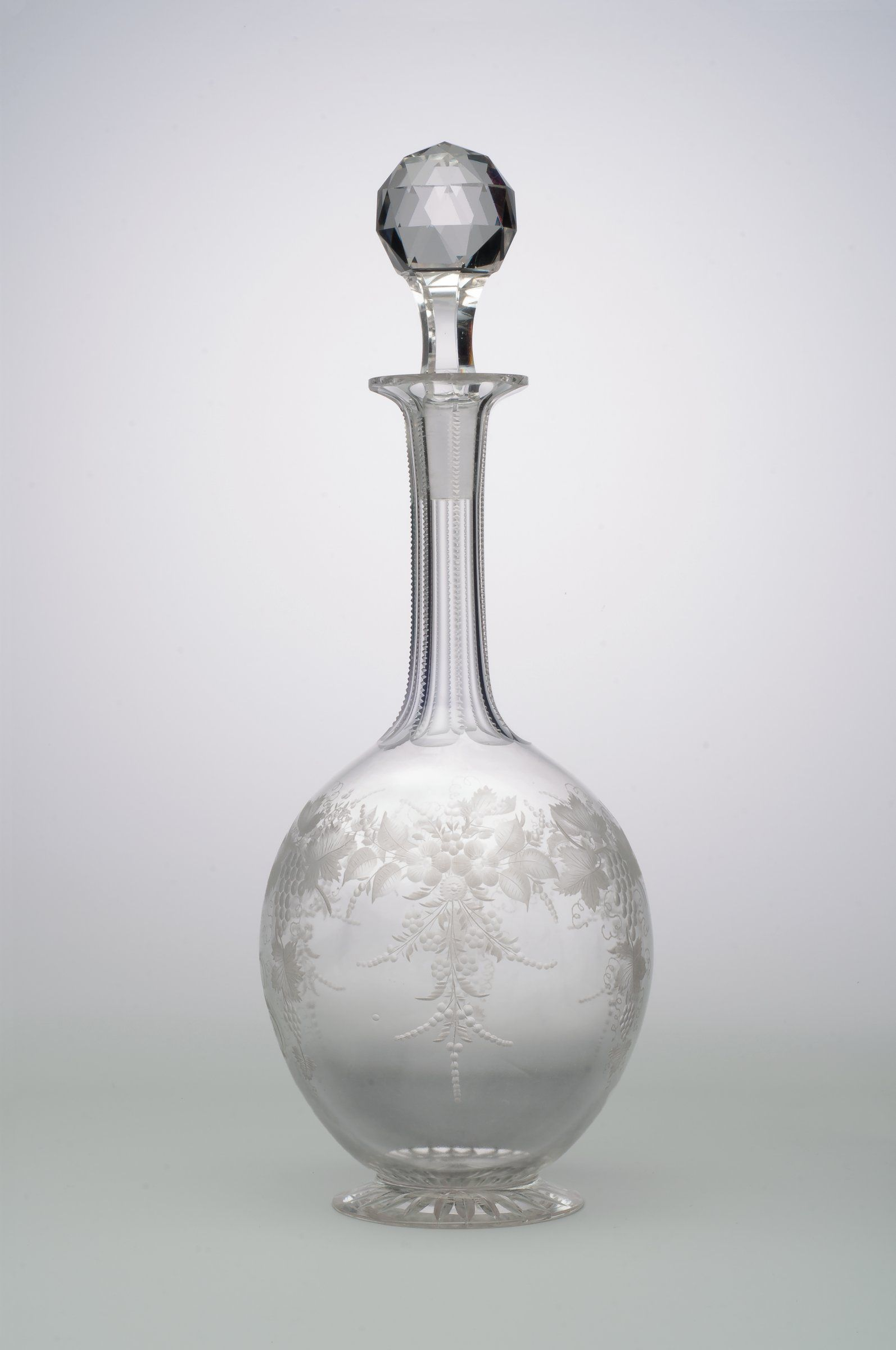 dating antique glass decanters