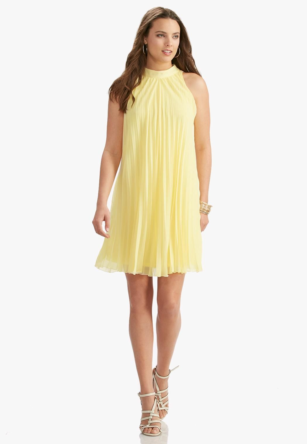 748e55645886c Be runway ready in this glamorous swing dress