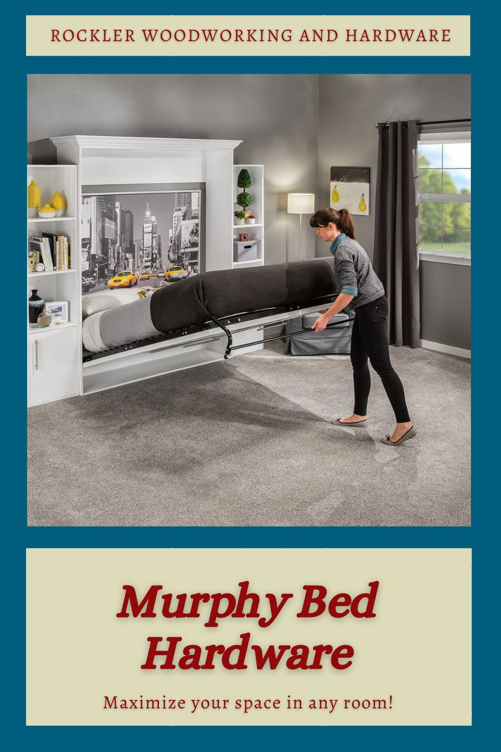 Murphy Bed Hardware in 2020 Bed hardware, Murphy bed