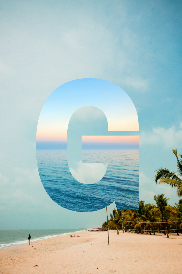 letter g wallpaper, designed by me using canva Cute