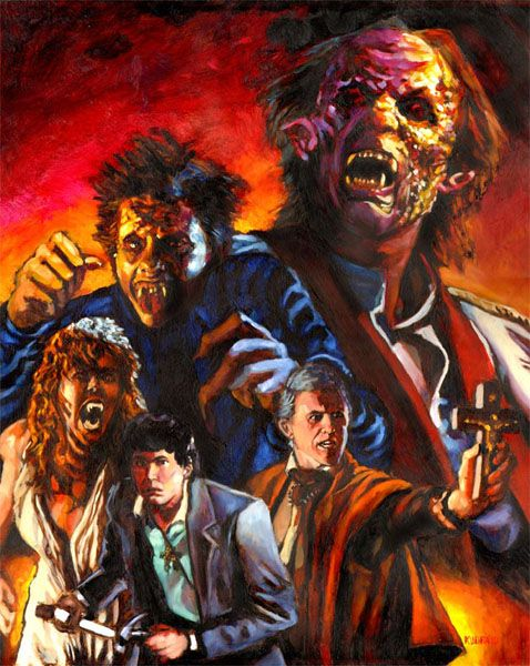 Fright Night. Possibly my favorite 80's horror movie. You're so cool, Brewster!