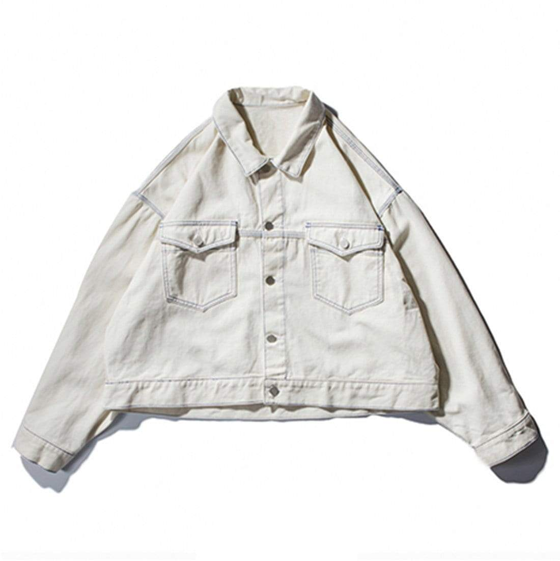 Ae Denim Denim Jacket Jackets [ 1102 x 1100 Pixel ]