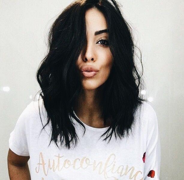 long black hairstyles pinterest