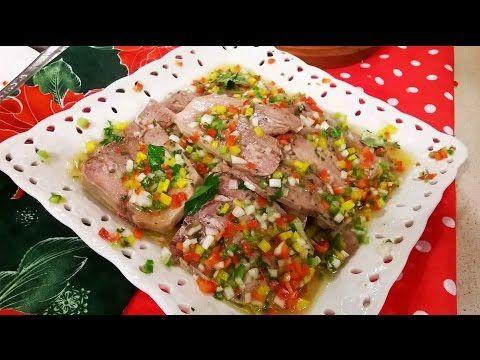 Lengua A La Vinagreta Criolla Para Navidad Lengua A La Vinagreta Comida Saludable Pollo Comida Fria