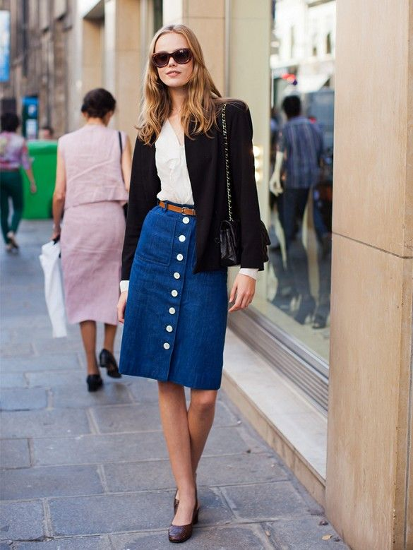 17 Best images about Front button skirt on Pinterest | Perfect ...
