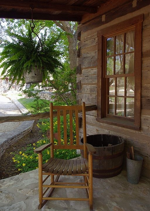 We 3 Home Design Country Porch Rustic House Cabins And Cottages