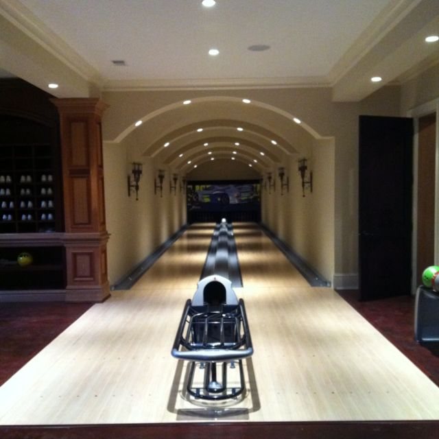 Indoor Bowling Alley