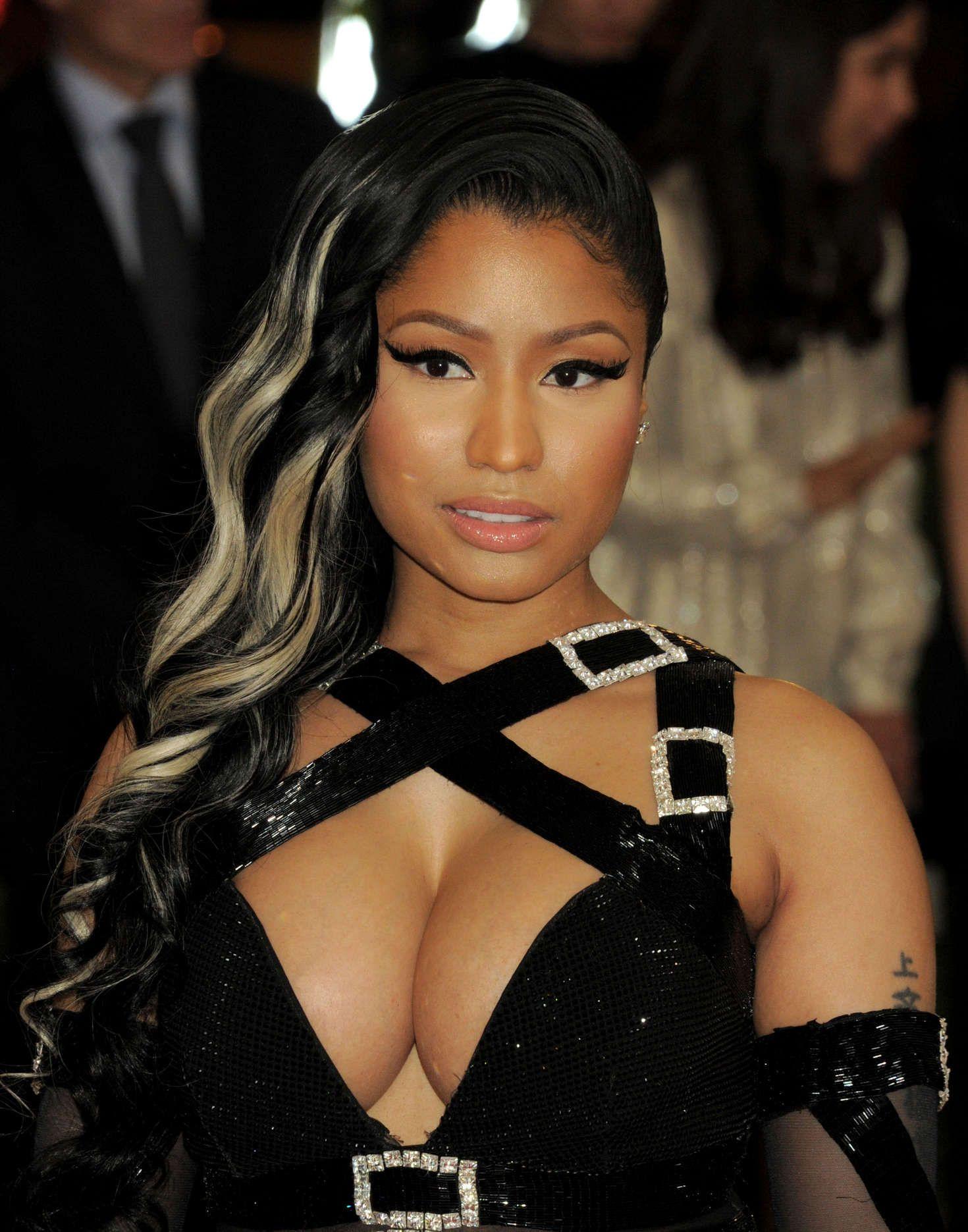 Nicki Minaj in Moschino at 2016 Met Gala in New York City Check more at