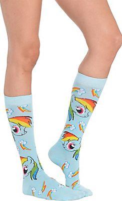 Rainbow Dash Knee-High Socks - My Little Pony