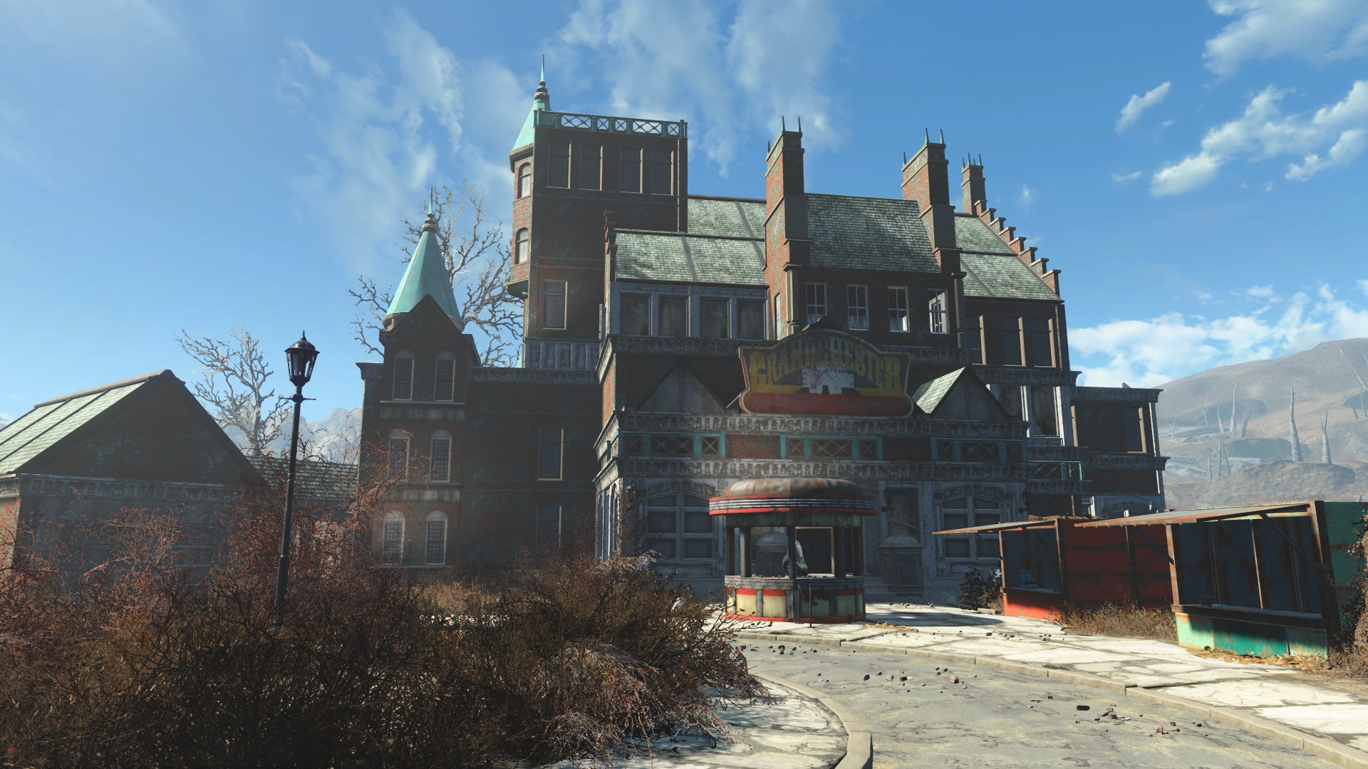Grandchester Mystery Mansion Mansions Fallout 3 New Vegas House Styles