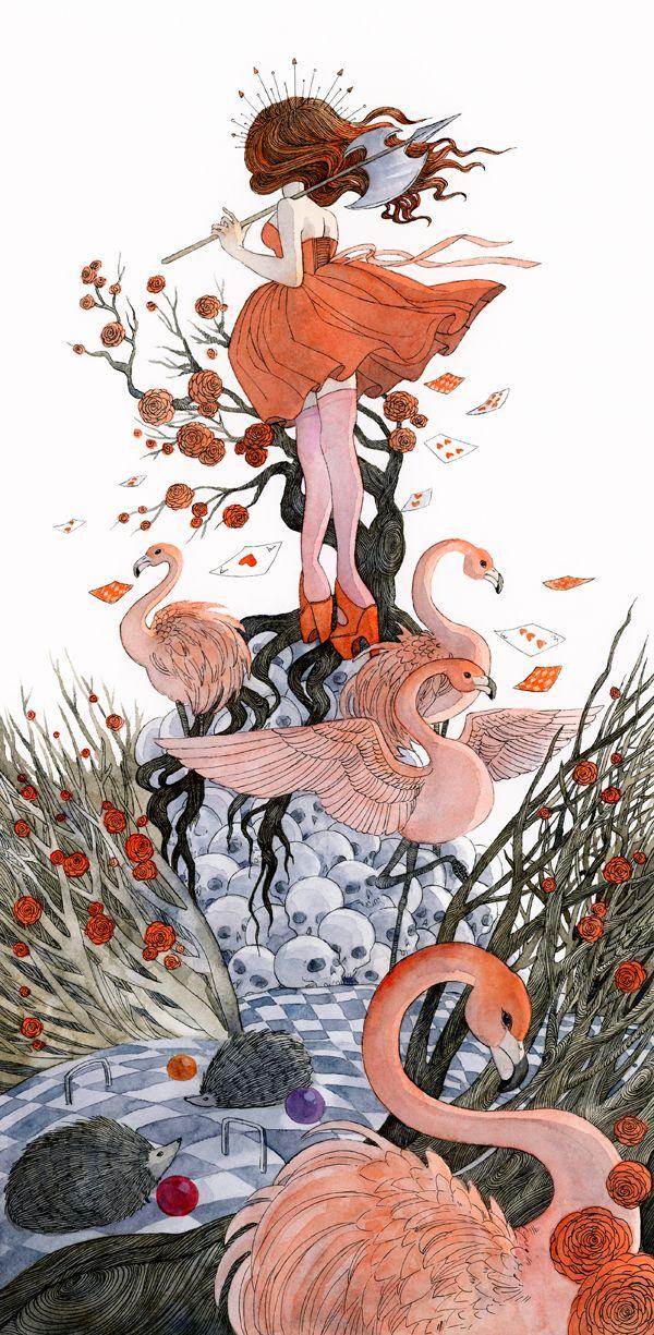 Reneenault: Alice in WonderlandandThe Queen of...
