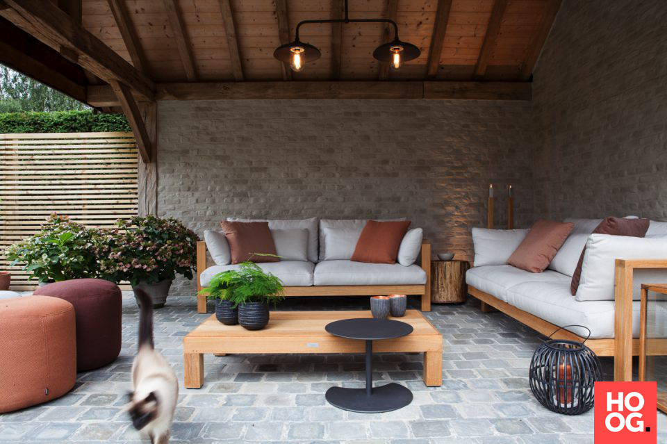 Design Terrassen inrichting outdoor loungeinrichting outdoor lounge veranda ideas