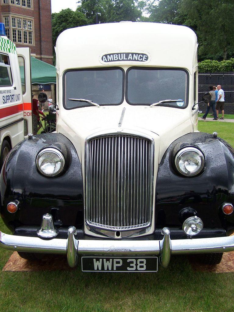 vintage ambulance photos as assembled by Kenneth Burdyny Rivererview ...