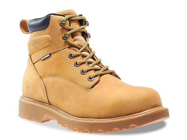Men Floorhand Work Boot -Tan