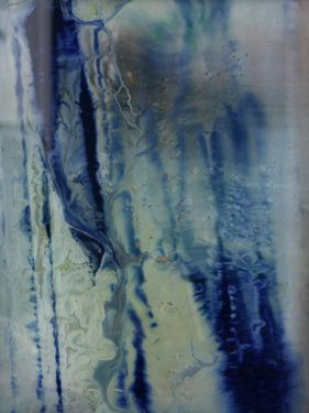 """Saatchi Online Artist Koen Lybaert; Painting, """"Blue-Eyed-Grass"""" #art"""