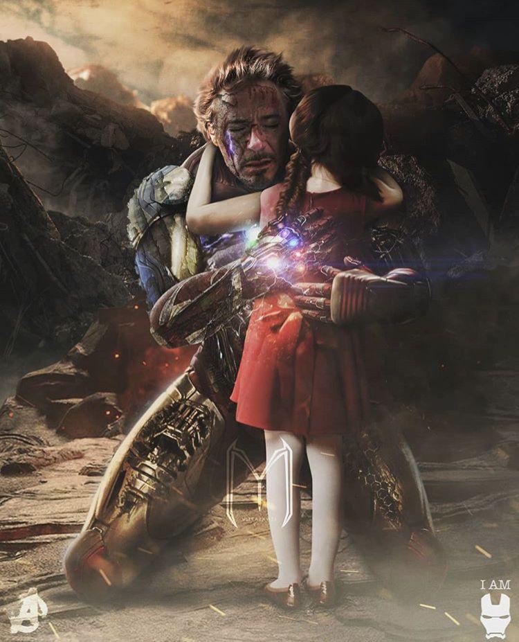 Iron Man & Morgan Stark Avengers Endgame | Marvel superheroes, Marvel iron  man, Marvel cinematic