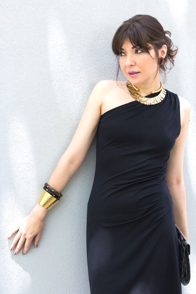 One Shoulder Lbd Minimalist Luxe Lbd Outfit Style Lbd [ 1200 x 800 Pixel ]