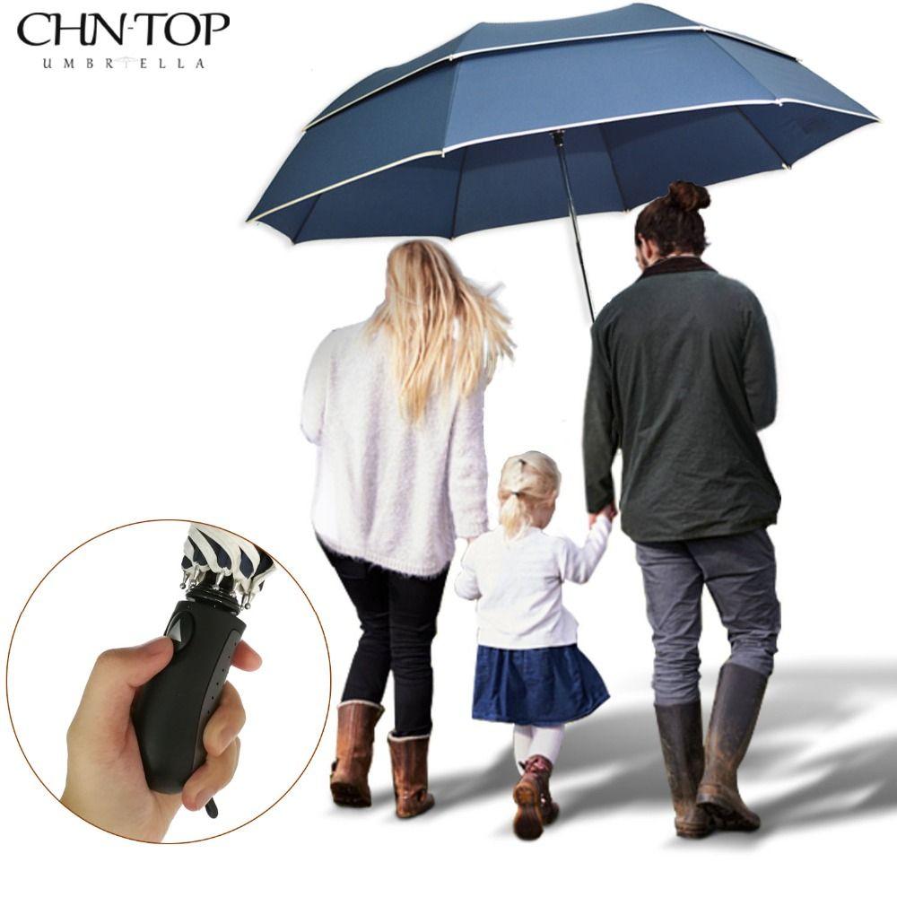 c8e77603436b Super Big Golf Business Umbrella Men Rain Woman Double Layer ...