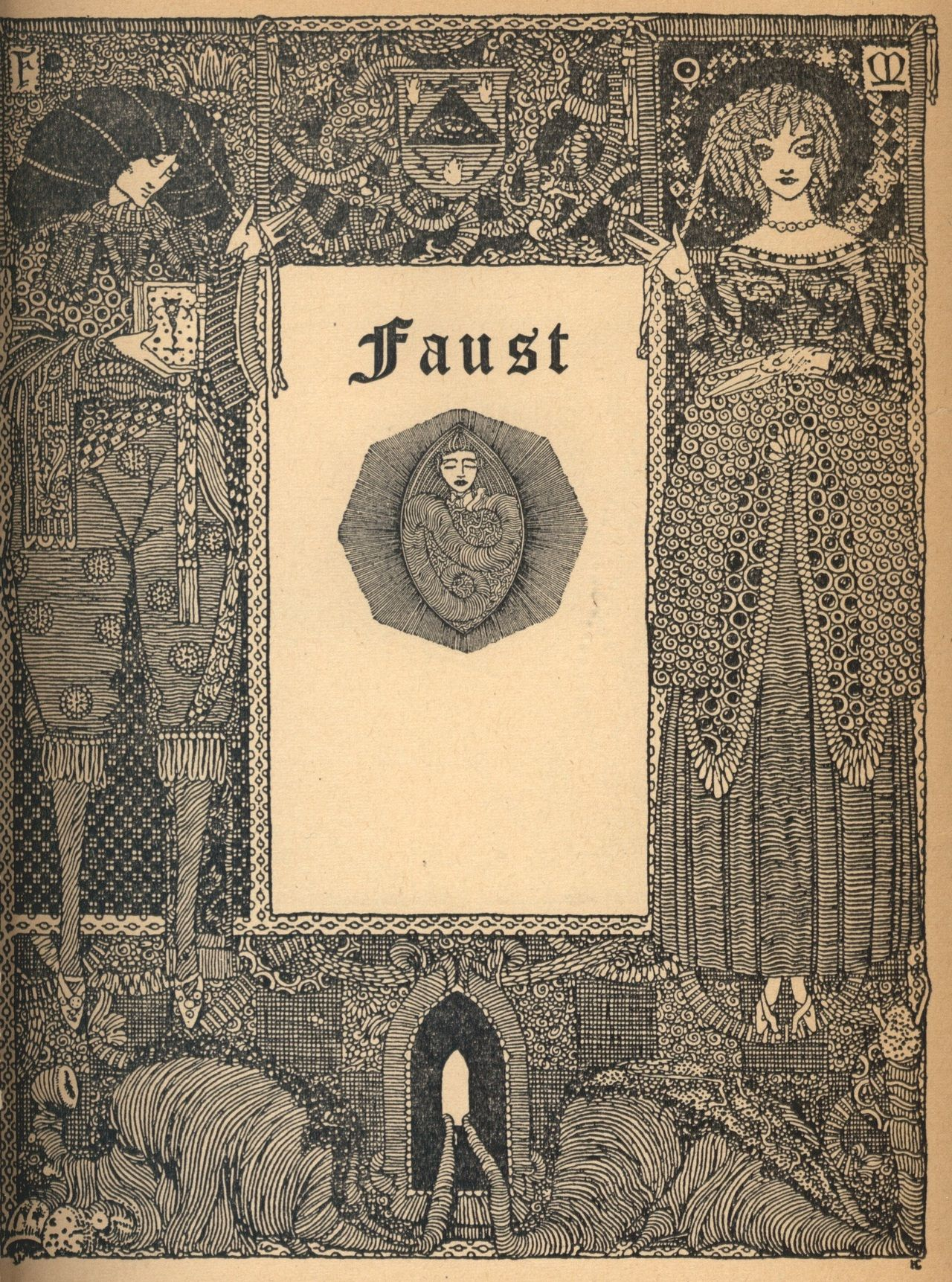 Illustration from goethes faust