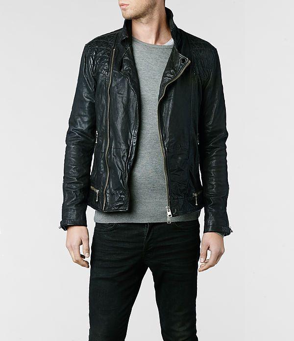 27d9204c12b9 AllSaints Conroy Leather Biker Jacket in Black or Oxblood (Alternate to the  Callerton)