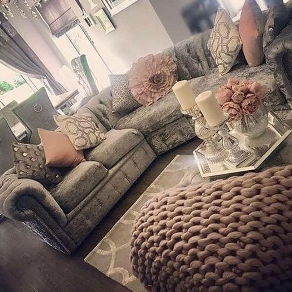 decor 💕 with images  velvet living room crushed velvet