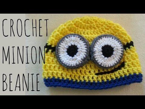 Minion Beanie | Crochet Pattern | Character Creation Tutorial ...