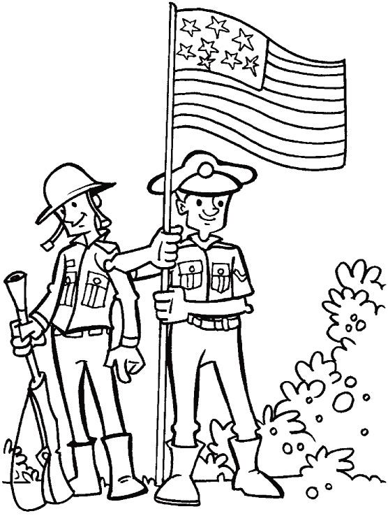 For Courage Dedication And Loyalty Coloring Page Download Free For