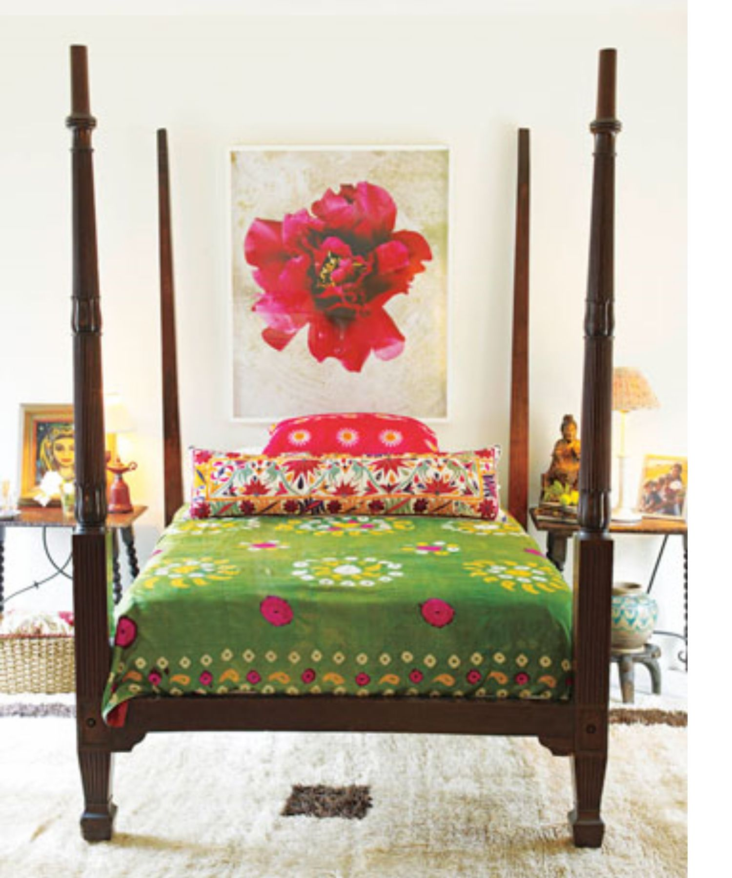 room of the week Spanish bohemian guest room s
