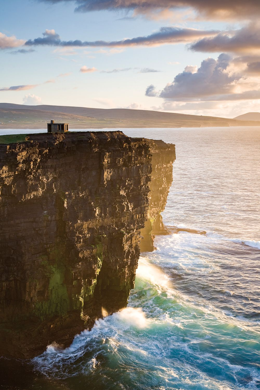 Coastal Landscape, Downpatrick Head, County Mayo, Connacht Province, Republic Of Ireland by Gareth McCormack - canvas print