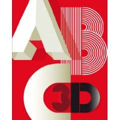 ABC 3D by Marion Bataille