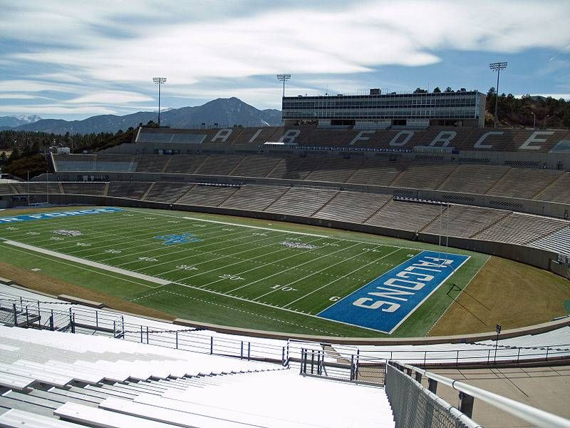 Usaf United States Air Force Academy Falcons Falcon Stadium Football Air Force Academy United States Air Force Academy Stadium