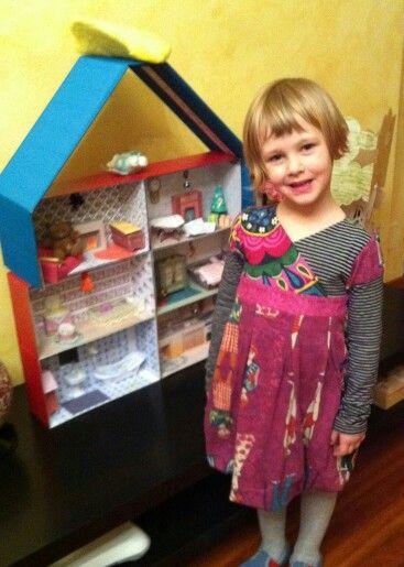 Babbo Natale ha portato una bella Dollhouse diy