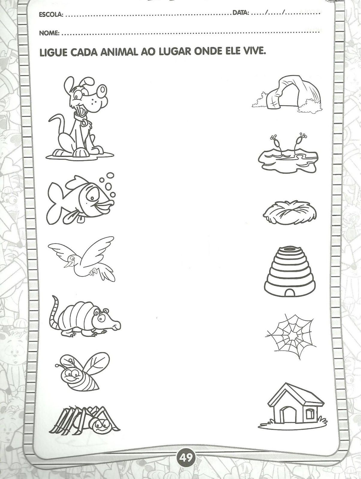 Worksheet About Farm Life