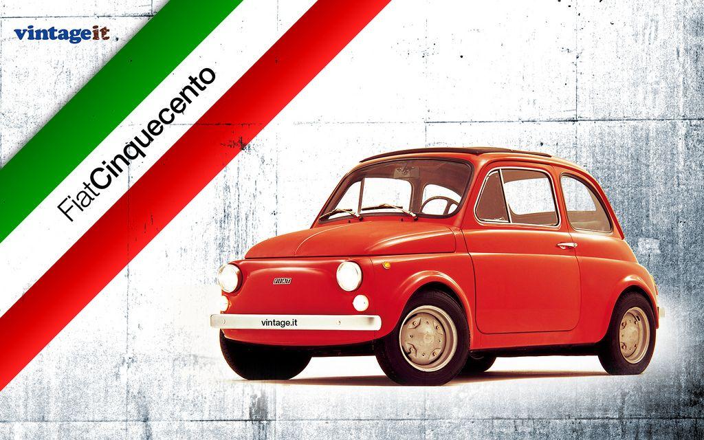 Fiat 500 Vintage Wallpaper Fiat 500 Fiat New Fiat