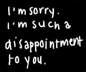 Sorry Im Not Good Enough Sorry To The One Person That I Thought