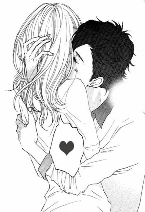 Pin By Via Garces On Drawings Anime Kiss Anime Love Manga Love