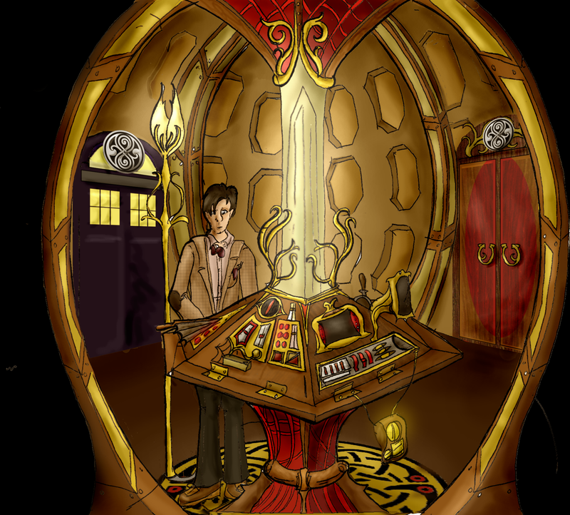11th doctors tardis interior  years the eleventh doctors
