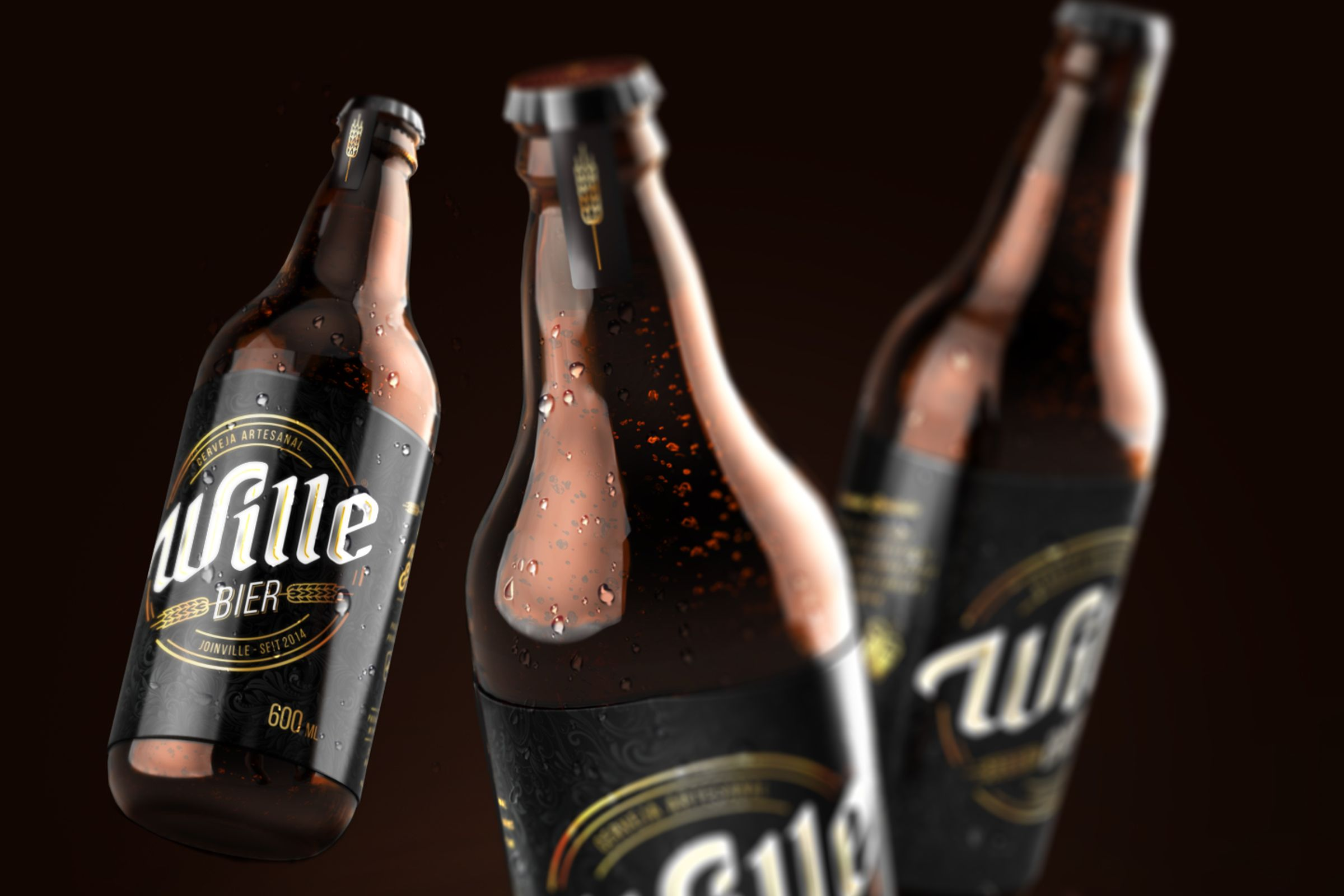 The craft beer market is booming pretty much anywhere you go, but  especially in Brazil. Wille Bier was founded in 2014 in Brazil by two beer  lovers hoping to create a handmade product of the highest quality. Using  only imported raw and select materials, they create their brews according  to the German Purity Law.