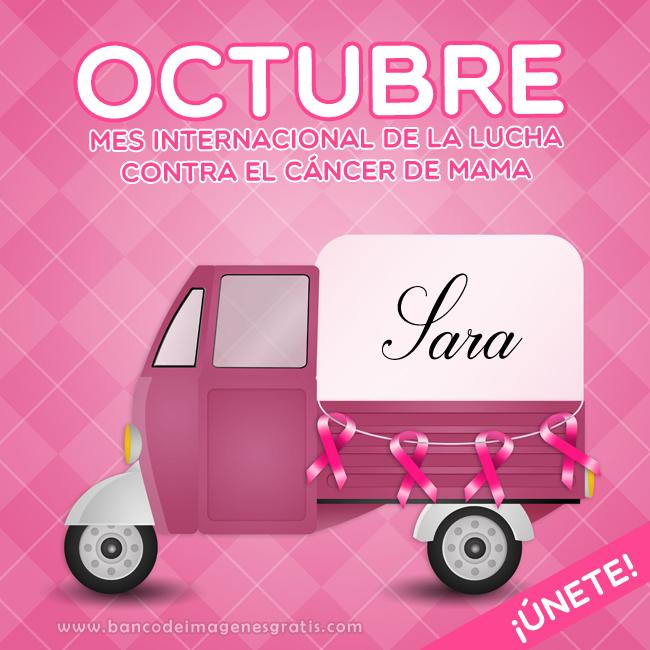 campa%C3%B1a+contra+el+cancer+de+mama+postal+ribbon+rosa+pink+camioncito+mensaje+lucha+y+nombres+de+mujeres+sara.png (650×650)