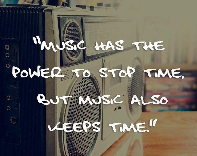 On music: