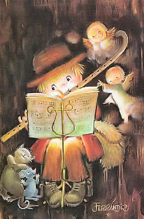 Juan ferrandiz castells stato un illustratore spagnolo for Storie di natale per bambini
