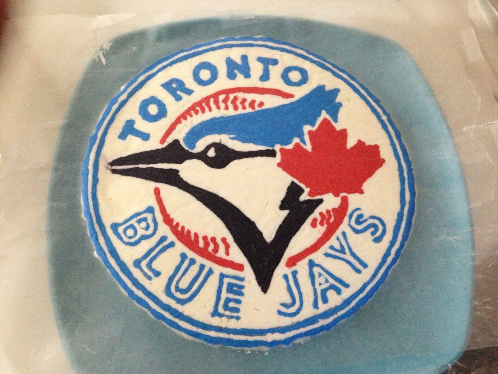 Crafting Baker Toronto Blue Jays Birthday Cake cake decoration