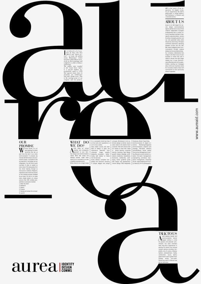 Photo of Aurea Visual communication from Aurea | Identity Design Comms at Coroflot.com …
